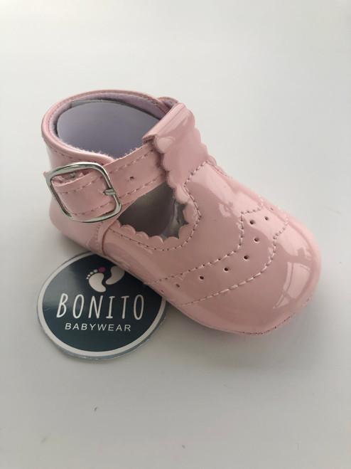 Spanish shoe plain pink
