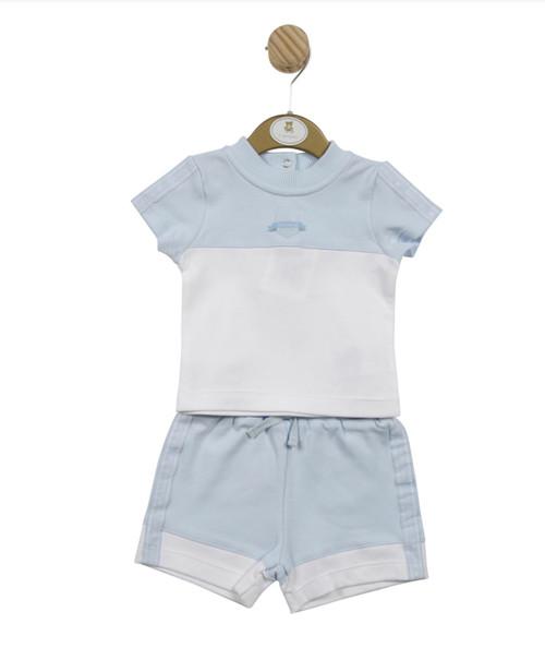 Mintini T-shirt/shorts blue