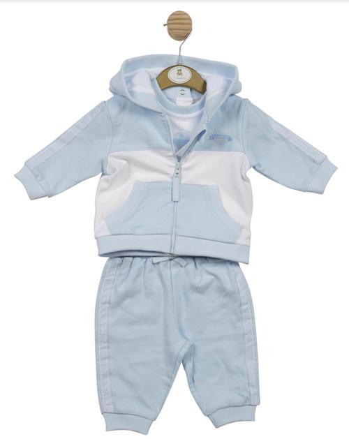 Mintini. 3 pc jogsuit blue