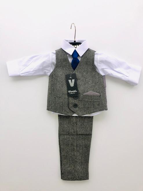 4 piece formal suit