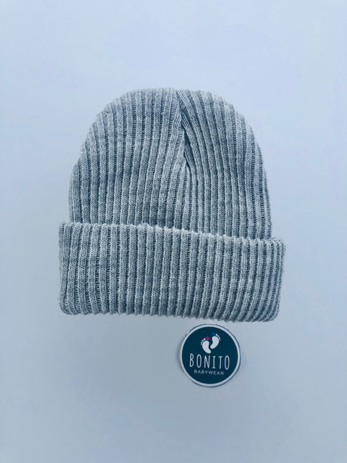 Beanie hat grey