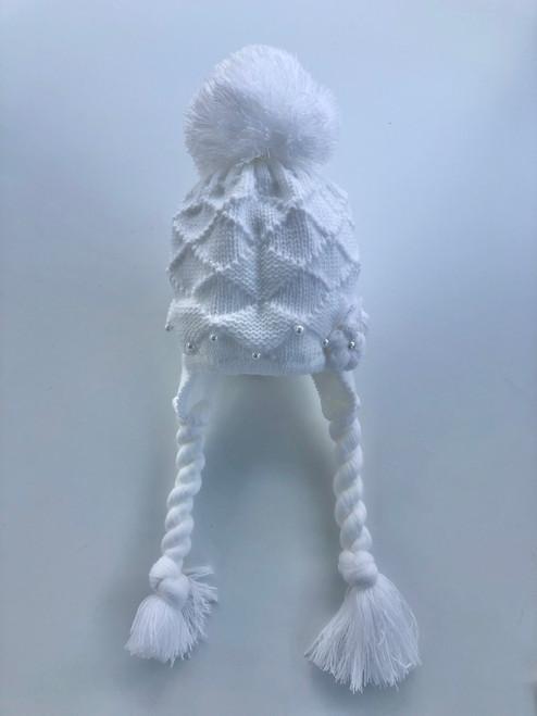 Toggle hat white