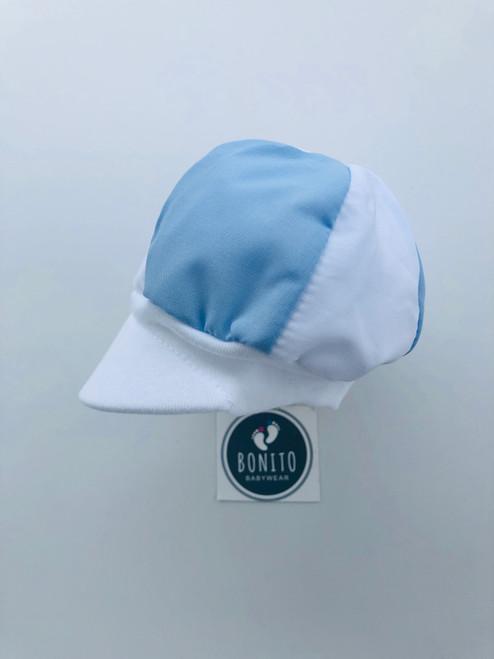 Jockey hat blue/white
