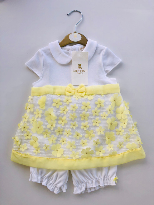 Mintini daisy set yellow