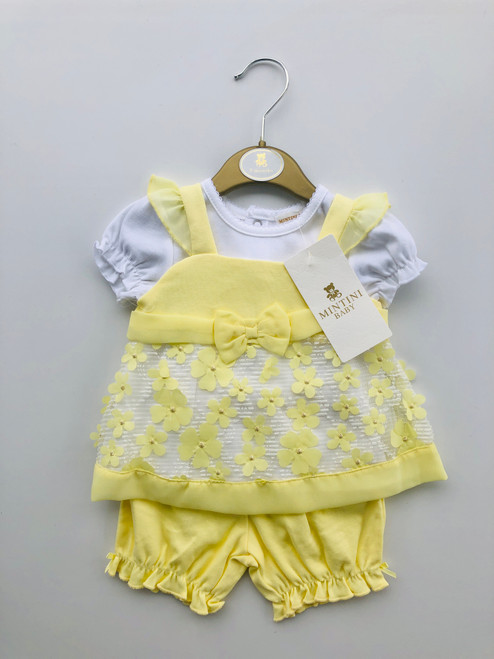 Mintini lemon daisy set