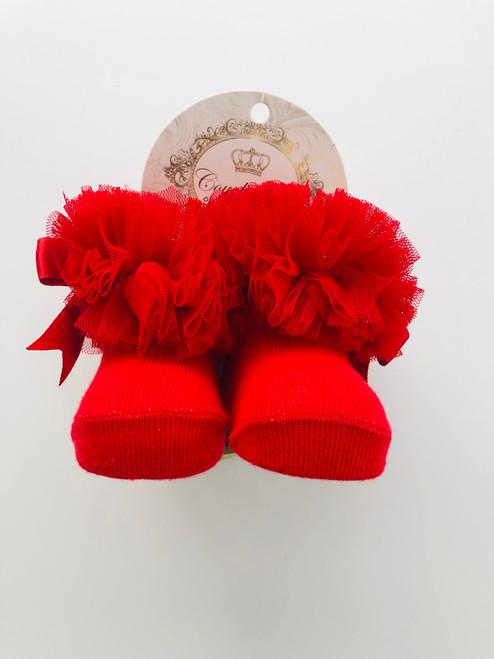 Tu Tu socks red