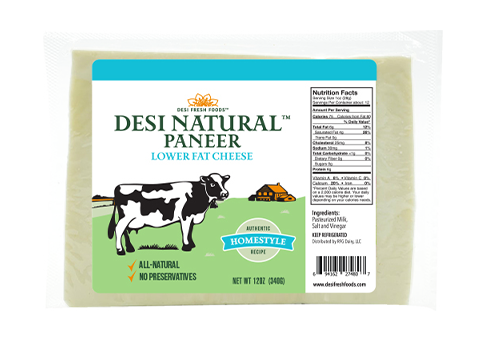 Desi Paneer - Indian Cottage Cheese L/F