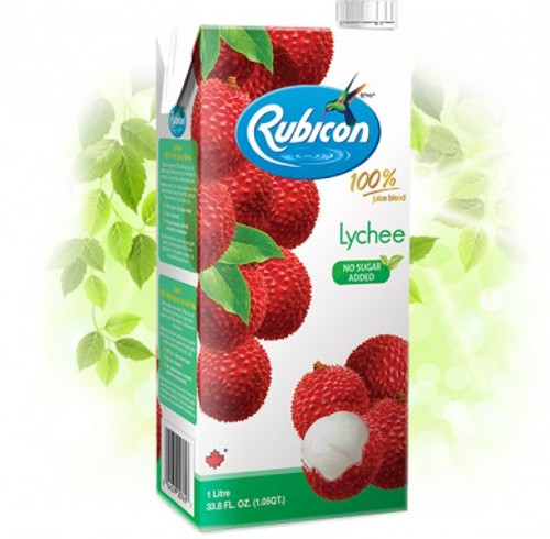 Rubicon Lychee Juice 1Ltr