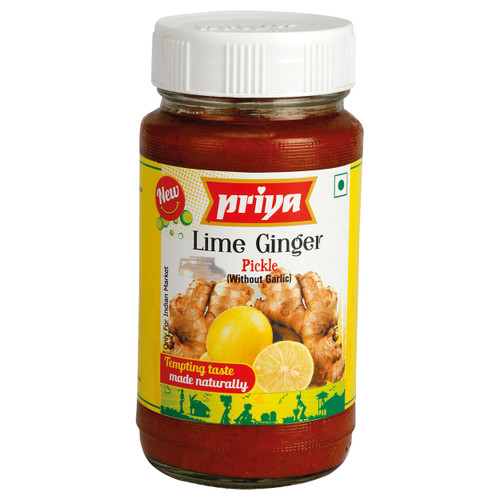 Priya Lime Ginger Pickle - 300gm
