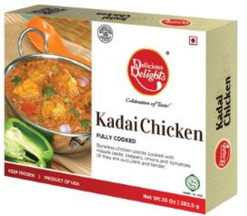 Delicious Delight, Kadai Chicken - 10oz