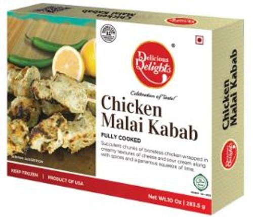 Delicious Delight, Chicken Malai Kabab - 10oz