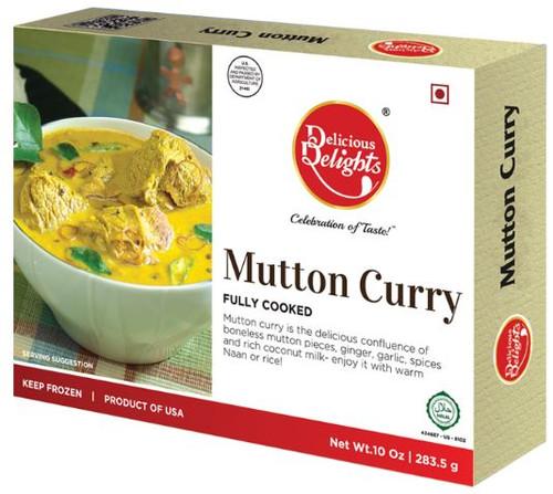 Delicious Delight, Mutton Curry - 10oz