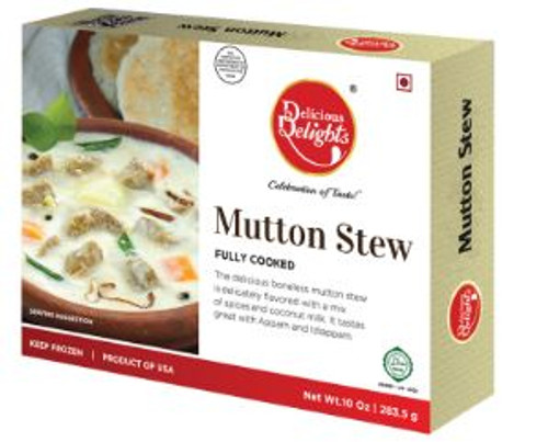 Delicious Delight, Mutton Stew - 10oz