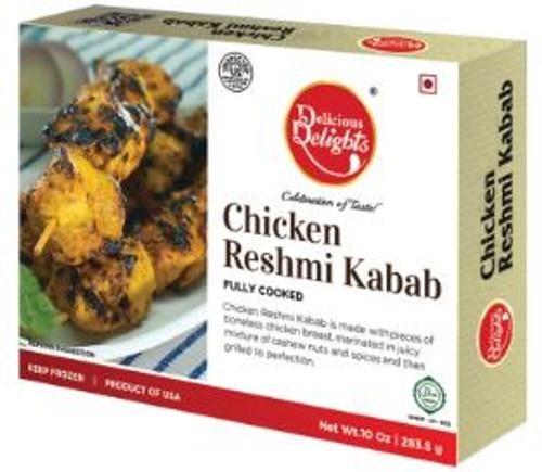 Delicious Delight, Chicken Reshmi Kabab - 10oz