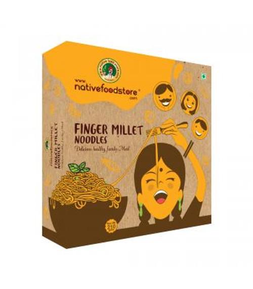 NativeFoodStore, Finger Millet Noodles - 210gm