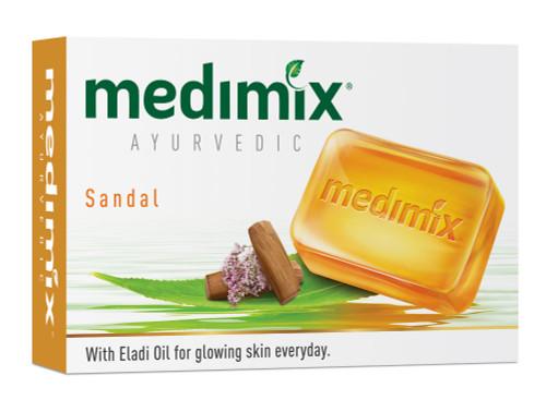 Medimix, Ayurvedic Sandal Bathing Bar with Eladi Oil- 125ml