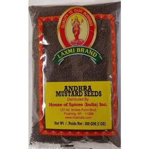 Laxmi, Andhra Mustard Seeds - 7oz
