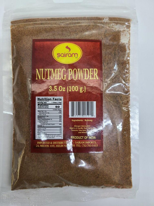 Sairam, Nutmeg Powder -  100gm