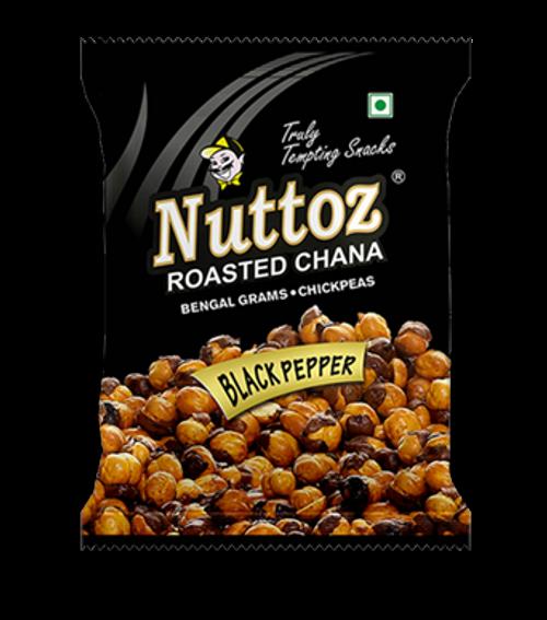 Nuttoz, Roasted Chana Black Pepper - 150gm