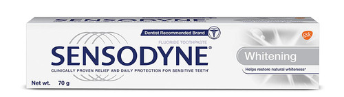 Sensodyne, Sensitive Toothpaste Whitening - 70gm