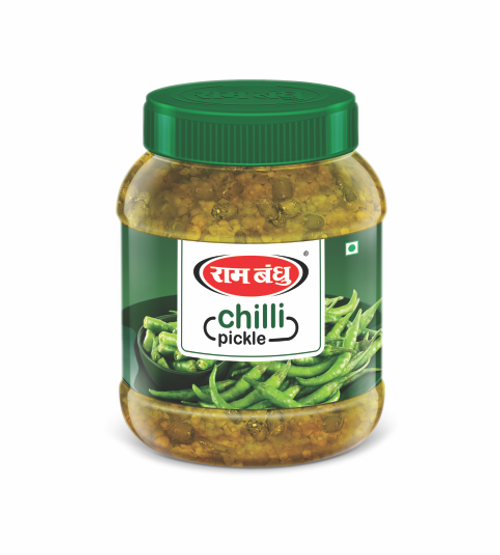 Ram Bandhu,  Chilli Pickle - 350gm