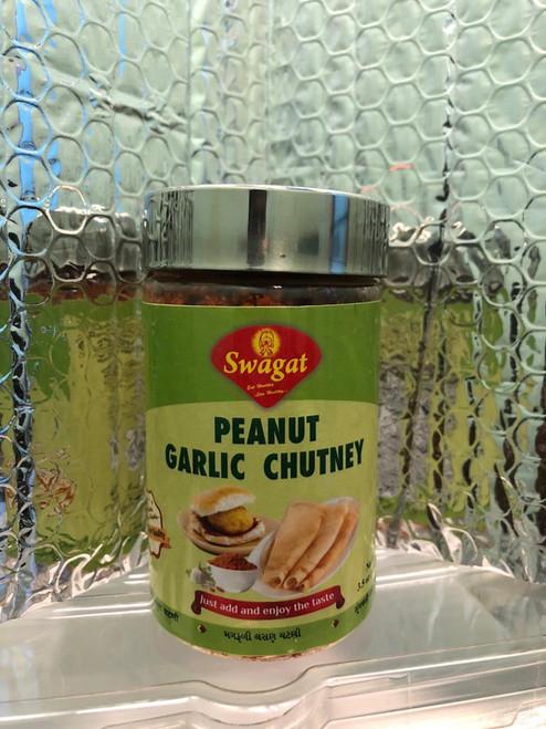 Swagat,  Peanut Garlic Chutney  - 100gm