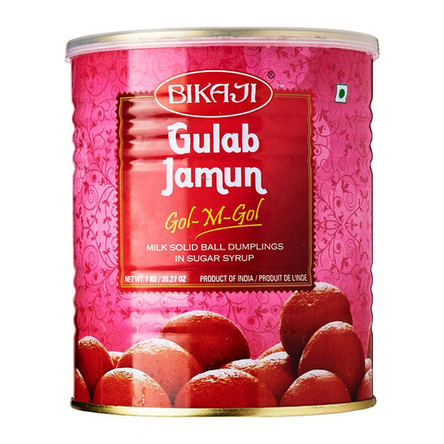 Bikaji,  Gulab JamunPatty - 1kg (Can)