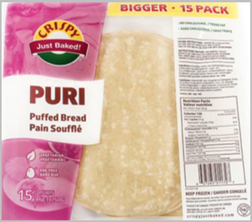 Crispy, Puri  (15 Pack)
