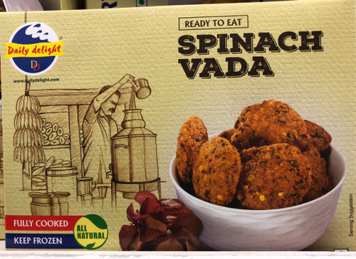 Daily Delight,  Spinach Vada - 300gm