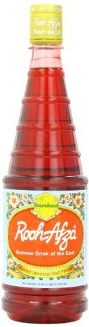 Hamdard Rooh Afza Sharbat Syrup, Rose - 1.5ltr