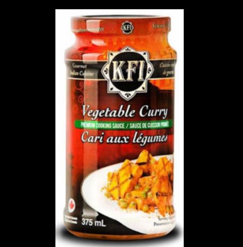 KFI, Vegetable Curry Sauce - 375ml