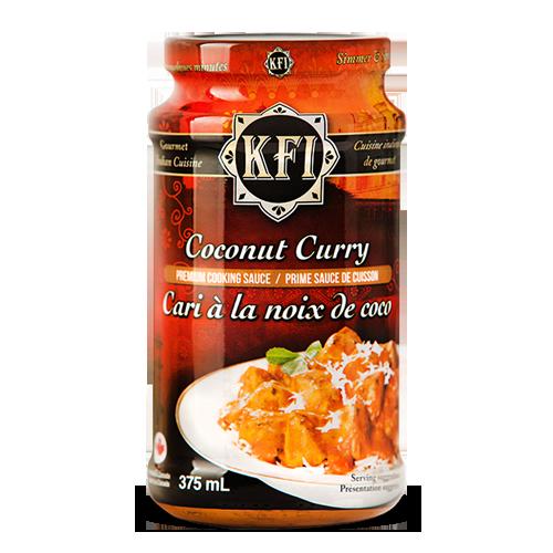 KFI, Coconut Curry Sauce - 375ml