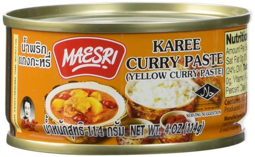 Maesri, Yellow Curry Paste - 4 oz