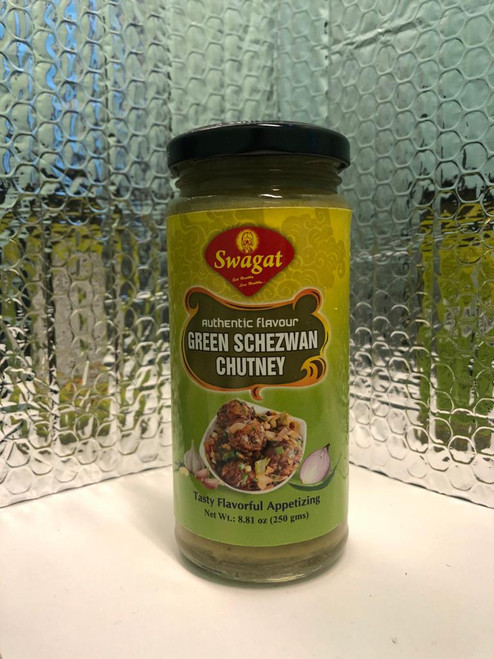 Swagat, Green Schezwan  Chutney - 250gm