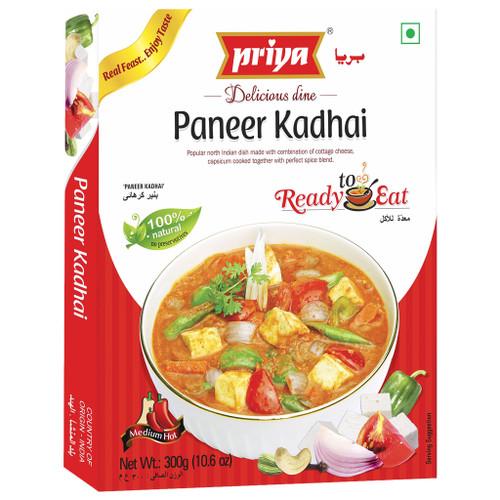 Priya, Ready To Eat Paneer Kadhai- 300gm