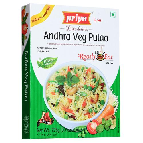 Priya, Ready To Eat Andhra Veg Pulao - 300gm