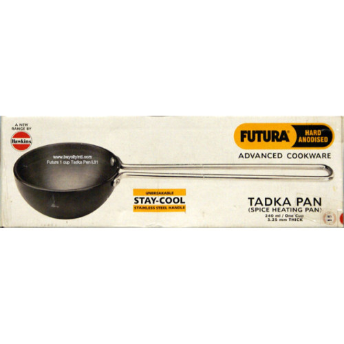 Futura, 1 Cup Spice Heating Tadka Pan, Hard Anodized L31
