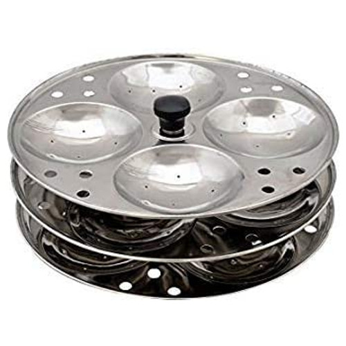 Idli Stand, 3 Plates 100% Stainless Steel