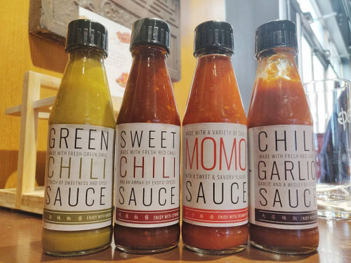 Inchin's,  Green Chili Sauce - 200gm