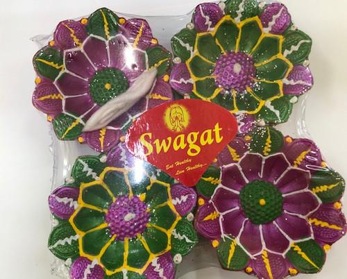SWAGAT,  COLOR DIYA WITH BATTI NO.113