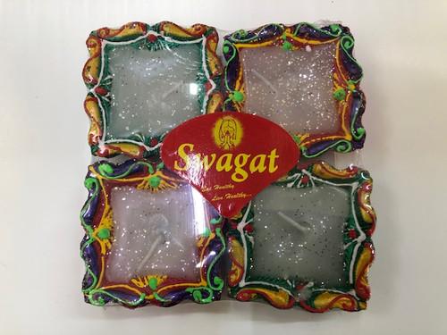 SWAGAT, COLOR DIYA WITH WAX NO.120