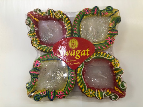 SWAGAT, COLOR DIYA WITH WAX NO.121