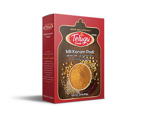 Telugu Foods, Idli Karam Podi - 100gm