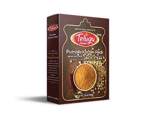 Telugu Foods, Putnala Karam Podi - 100gm