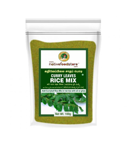 NativeFoodStore, CURRY LEAVES RICE MIX - 200 GMS