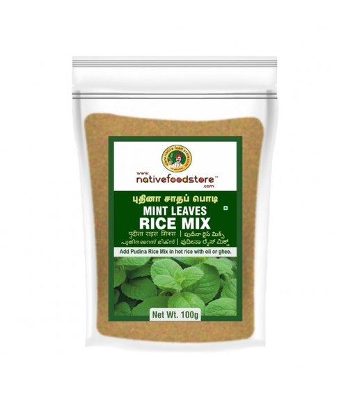 NativeFoodStore, PUTHINA / MINT LEAVES RICE MIX - 200GMS