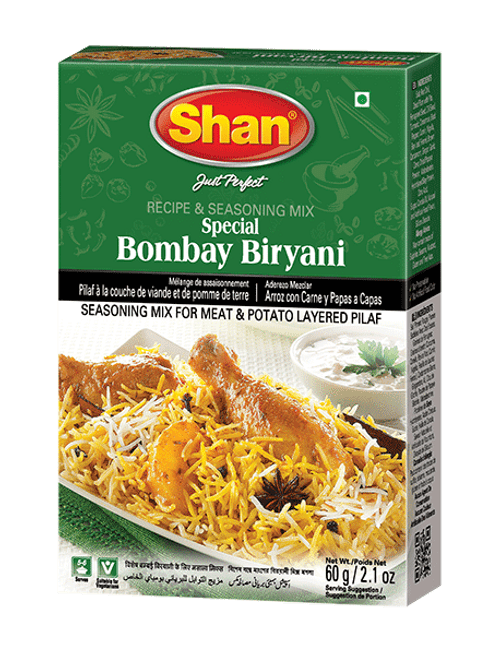 Shan, BOMBAY BIRYANI MIX - 60gm