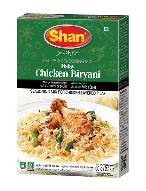 Shan, MALAY CHICKEN BIRYANI - 60gm