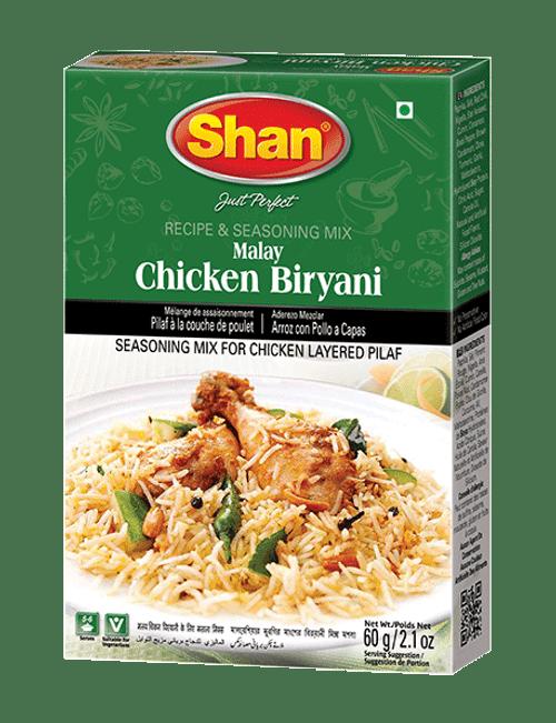 Shan, MALAY CHICKEN BIRYANI - 60gm