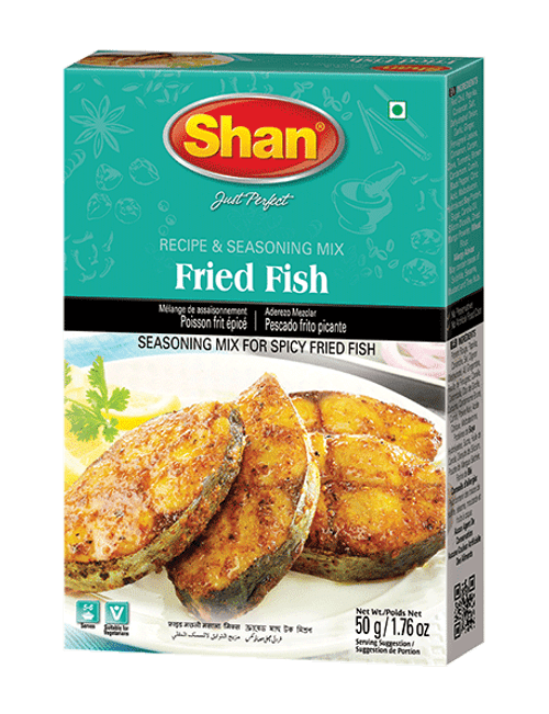 Shan, FRIED FISH MIX - 50gm